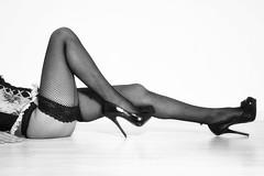 Legs (Bernie Condon) Tags: woman legs stockings holdups fishnets heels stilettos highheels sexy glamour erotic glamor