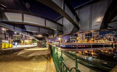 Sandridge Bridge at Night-10