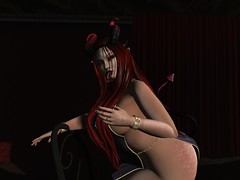 Lil Demon (Syren Nightfire) Tags: storybook eventide bentbox secondlife soul lumae slink catwa hourglass plastik