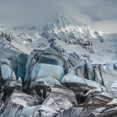 'The Ice Palace' - Svnafellsjkull, Iceland (Kristofer Williams) Tags: svinafellsjokull iceland glacier ice snow landscape winter mountain glacial skaftafell vatnajokull