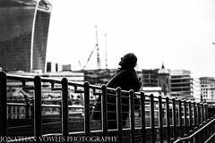 Admiring view (Jonathan Vowles) Tags: london thames view man