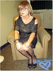 Gently Sitting (Charlene Danielson) Tags: lesbian cd tgirl ts charlene dyle