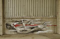 Dely (Re PiEd) Tags: white black graffiti noir spray blanc dely spazm smerg antistak