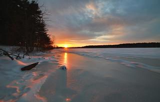 The Frozen Sunset