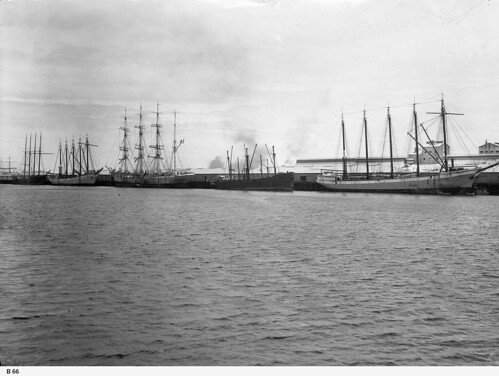 View of Darling Wharf, Birkenhead. - Photograph courtesy of the State Library of South Australia