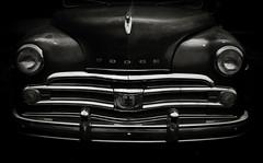 True Detective (hutchphotography2020) Tags: blackandwhite monochrome metal night nikon headlights grill chrome dodge stalking detective