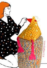 vdm-hendl33 (atelier MtR) Tags: chicken huhn bags taschen tschchen kulturbeutel kosmetiktschchen