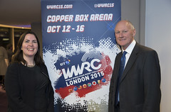 BT WWRC15 ticket sales launch event