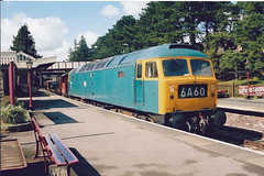 47105 Winchcombe (British Rail 1980s and 1990s) Tags: blue station train br diesel rail railway loco trains brush gloucestershire locomotive freight britishrail warwickshire 47 2000s gwr sulzer livery class47 00s type4 railfreight noughties 47105 liveried