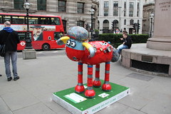 'Robo-Shaun' Shaun the Sheep (ec1jack) Tags: uk england london march spring europe britain trail cityoflondon nickpark 2015 shaunthesheep kierankelly ec1jack canoneos600d shaunthesheeptrail roboshaun