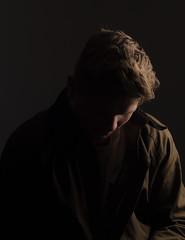 Day 303/365 (Elfur Helgadottir) Tags: portrait norway dark sad bergen softbox feelings icelandic