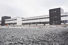 Ringstorpshöjden - radhusen i februari 2015