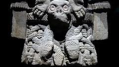 Coatlicue, detail of skirt front, c. 1500, Mexica (Aztec)