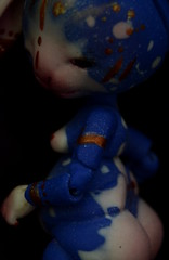 Breathing stone (Tshu) Tags: rabbit ball doll bjd custo lapin jointed fenouil chimères tendres pandalilou koalakrash