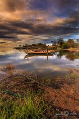 The Boatland - Ria de Aveiro (paulosilva3) Tags: portugal sunrise canon de landscape boats eos lee filters ria aveiro waterscape 6d polariser lakescape riverscape murtosa