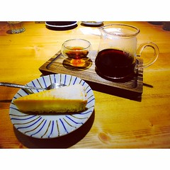 (APO HAN) Tags: coffee yum taiwan taichung lemonpie ethiopian instagram caflulu