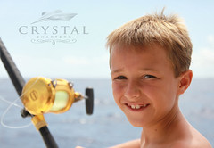 Fishing! (crystal.charters) Tags: city boy ski smile bar swimming swim islands fishing sand ray sailing with feeding starfish stingray sting jet sandbar atlantic southern dolphins cayman rays feed watersports tours jetski stingrays
