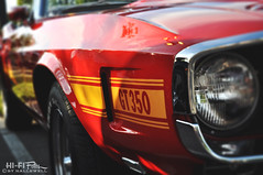 GT 350 (Hi-Fi Fotos) Tags: red ford 1969 sport race vintage prime nikon convertible pony chrome 350 american micro shelby decal mustang 40mm gt 69 nikkor v8 musclecar 351 gt350 d5000 hallewell hififotos