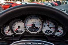 2012 Porsche 911 Turbo Cabriolet (McLaren San Francisco) Tags: brown 911 turbo porsche espresso cabriolet 997 9972 carrarawhite