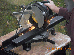 Hank Kennedy table saw project - diy guide rails 12