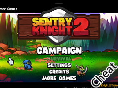塔防騎士2:修改版(Sentry Knight 2 Cheat)