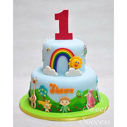 Charlie Birthday Cake