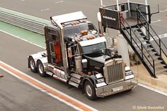camión en prueba velocidad