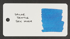 Sailor Jentle Sky High - Word Card