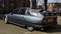 Citron CX 25 GTI Turbo 2 (sjoerd.wijsman) Tags: auto holland cars netherlands car sedan grey gris gray nederland thenetherlands grau denhaag citron cx voiture vehicle holanda autos saloon import paysbas berline olanda fahrzeug niederlande grijs zuidholland carspotting berlina citroncx carspot stufenheck sidecode7 12032015 23rxv1 citroncxberline cxberline