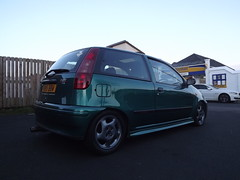 The Punto just after a wash and wax! (David Kedens) Tags: punto fiat wax karcher poorboys snowfoam puntosporting mk1puntosporting punto1216v mk1punto