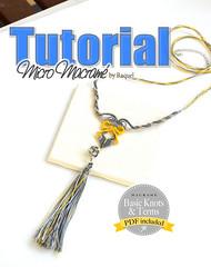 Micromacrame Necklace Tutorial Tassel Pendant PDF Collar macrame esquema (Raquel's Designs) Tags: diy micro macrame tutorials margaretenspitze