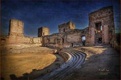 (097/15) Interior del castillo de Buitrago de Lozoya (Pablo Arias) Tags: madrid espaa photoshop spain nikond50 hdr texturas castillos photomatix sigma1020 buitragodelozoya pabloarias