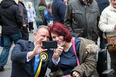 Election Fever, Inverness High Street (02/05/15) (johnawatson) Tags: people politics ge inverness 2015 efs18135mmf3556is 2015generalelection lpshare