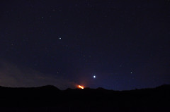 Fire and stars (Venus) - Etna (ciccioetneo) Tags: italy venus nightscape milo wideangle sicily stardust venere sigma1020mm wideanglephotography sigma1020mmf456 starrysky cielostellato lavaburst fornazzo highisophotography strombolianactivity etnaeruption volcanoetna nikond7000 eruptivefissure ciccioetneo newsoutheastcrater etnasnewsoutheastcrater etnansec etnaunesco subterminalactivity strombolianandsubterminalactivity 13maggio2015 may13th2015