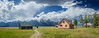 pink house on john moulton ranch (johncarney) Tags: usa america unitedstates wyoming jacksonhole mormonrow antelopeflats