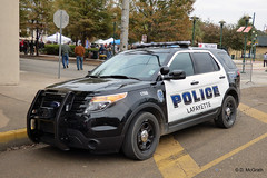 Lafayette PD_P1070254 (pluto665) Tags: ford car explorer squad suv cruiser piu