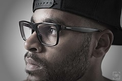 Selfportrait ( The story of Faces Project ) (R.P Williams Photography || Netherlands) Tags: portrait selfportrait man black male men closeup photoshop wow pose 50mm glasses amazing cool model nikon faces naturallight story desaturation strong manual blackman dontblink niksoftware portraitobsession thestoryoffaces