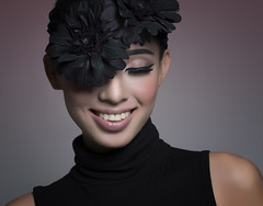 Smile (Shane Devlin Photography) Tags: portrait girl smiling beauty fashion hat