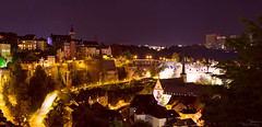 Panorama night Luxembourg (T.Rustemov) Tags: night luxe luxembourg