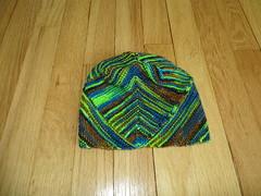 IMG_5106 (alysraen) Tags: blue green hat blunt damp madelinetosh martinabehm