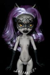 Claudia (saijanide) Tags: monster werewolf dark nude high wolf doll artist dolls mask ooak gothic goth victorian venetian custom nudity mh repaint clawdeen saijanide