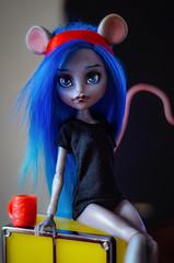 Gemma (Klio.13) Tags: monster toys high dolls ooak custom mattel customdolls dollphotography toyphotography handmadeoutfit monsterhigh booyork mouscedes mouscedesking
