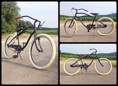 My Custom Cruiser Bicycle (HelveTiki) Tags: bicycle schwalbe beachcruiser brooksb17 fatfrank
