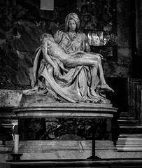Michelangelo (Raffaele_82) Tags: life light italy vatican rome history monochrome canon eos photo blackwhite view picture pancake 24mm monuments past sanpietro storia beatifull