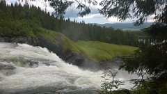 Tannfossen (rossingen) Tags: tannfossen sverige jamtland big waterfall sweden