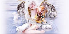 MUSIC OF ANGELS (Annyzinh Oliveira) Tags: re for epiphany event ro supernatural indie teepee halfdeer phoenix hair fair 2016