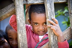 Malagasy Kids (Rod Waddington) Tags: africa african afrika afrique madagascar malagasy kids children portrait people ethnic fence boy