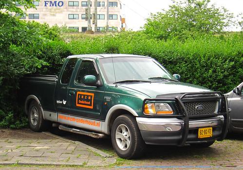 1999 Ford F-150 4.6 V8 (rvandermaar) Tags: ford f150 1999 v8 triton 46 fordf150 fseries fordfseries grijskenteken sidecode6 62bgvz