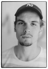 IMGbb (Simon Klemmer) Tags: portrait minolta 50mm film analog developing darkroom tmax100 kodak rodinal agfa multicontrast dresden yankees