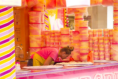 Sugarcoated (Dutch_Chewbacca) Tags: girl woman girls women sweet pretty fair shop food stall stand sugar candy beauty candid canon dlsr sigma 2016 30 july saturday tilburg 013 noordbrabant city street centre urban life streetphotography straatfotografie nederland netherlands europa europe tilburgse kermis eten colors colour